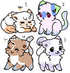 [4/4 OPEN] 40 Point Kitty Adopts by Elizabeth-Adopts