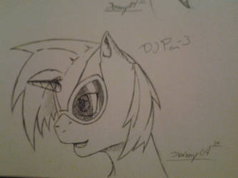 dj pon 3 head shot by jbrony04
