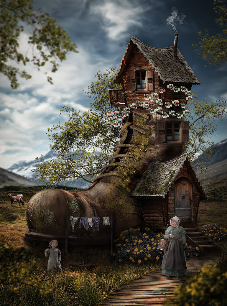 Shoe House by H100-Photography