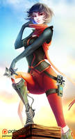 Ninja Mari Fortnite by Xiavy