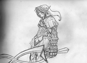 Onilink Sketch V 2 by ChaseRiketz
