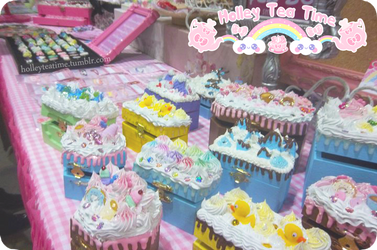 Holley Tea Time DecoDen Boxes by miemie-chan3