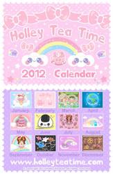 Holley Tea Time 2012 Calendar by miemie-chan3