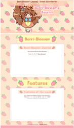 Berri-Blossom's Journal - Sweet Strawberries by miemie-chan3
