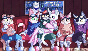 --+Blinx and his friends+-- by Marre-Chan95