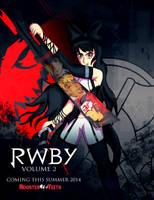 RWBY Black Poster by ChronoPinoyX