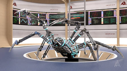 The Spider Robot by petege