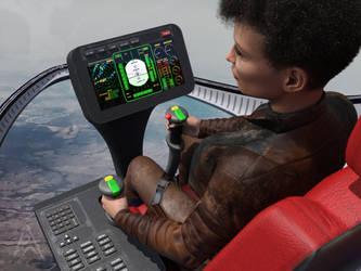 The test flight by petege