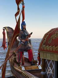Roman Gondola detail by petege