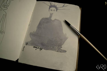 Sketchbook #1 by Jojo-Jellybean