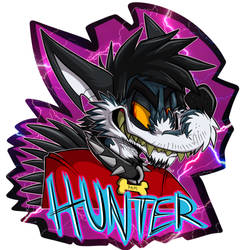 Hunter badge by FatalSyndrome