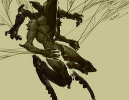 Spider executioner by kyzylhum