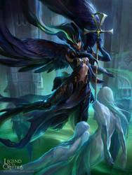 Angel of Death-reglogos by kyzylhum