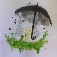Totoro by Lunastrahunter