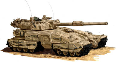The future abram tank by Superbomber5