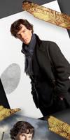 Sherlock Bookmark by Vuel
