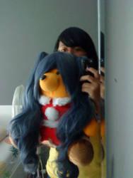 Me and Usui bear by caroluvmoka