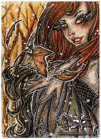 ACEO :: Magical Autumn by StefaniaRusso