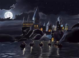 Hogwarts by LovelyHufflePuff