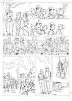 Comic-page k05 pencils by MichaelVogt