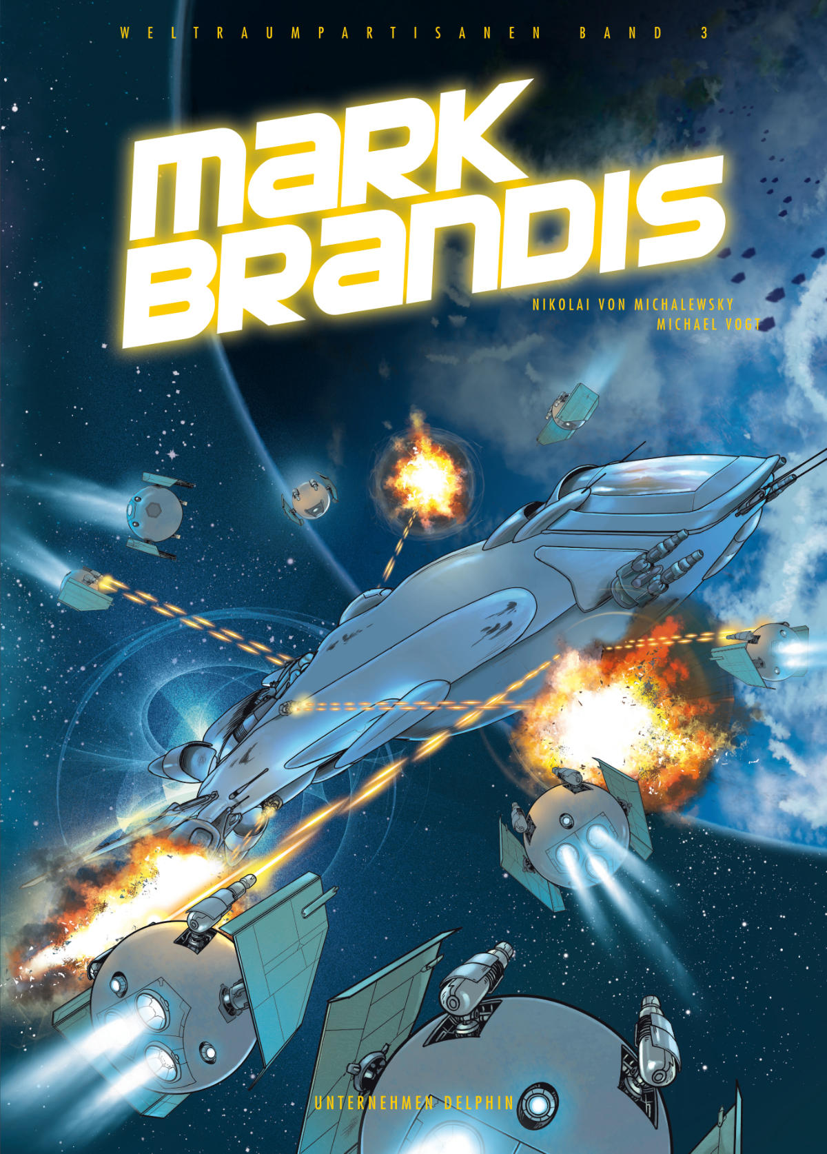 Mark Brandis Unternehmen Delphin cover by MichaelVogt