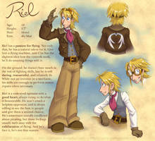 Rogue Skies: Riel reference by falingard