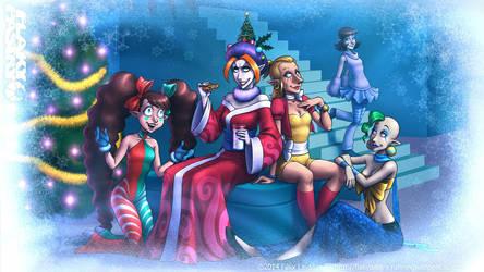 Merry Flaky Christmas 2014! by falingard