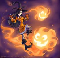 Pumpkin Princess by falingard