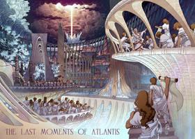 The Last Moments of Atlantis by spoonbard