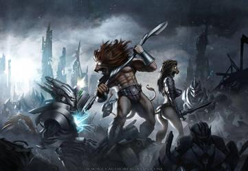 Battle Beast by ClaudioBergamin