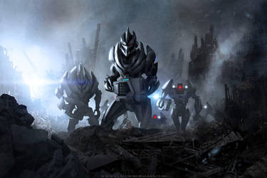 Evil Robot Invaders by ClaudioBergamin