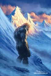 The Yeti by ClaudioBergamin