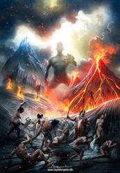 Slayer of Gods by ClaudioBergamin