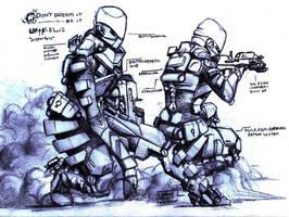 'supporter' WRtK: armor system by WickerWolf