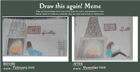 Improvement Meme by Thinkinboutart