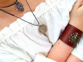 Bracelet and pendants by Tricia-Danby