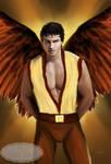 Archangel Uriel by Tricia-Danby