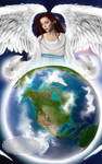 Angel of Peace by Tricia-Danby