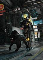 Knight Errant Night Patrol by The-Nullchecker