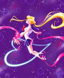 Sailor Moon Henshin! Moon Cosmic Power Make Up! by Joliet