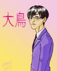 Ootori Kyoya by somberlittleman
