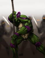 Donatello - thedarkcloak by tmntart