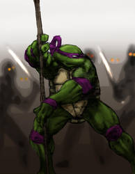 Donatello - thedarkcloak by tmntart