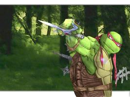 Raphael by Firedolphin by tmntart