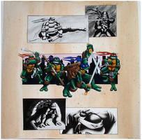 Ninja Turtle by Salunzo by tmntart