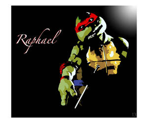 Movie Raphael by MondoJay by tmntart