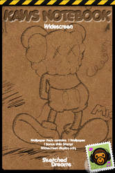 KAWS Notebook- Thank You by sketched-dreams