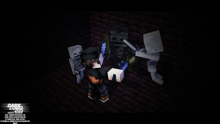 M-I PIc #5 - Fight with Ender Skeleton by mobindezfooli1384