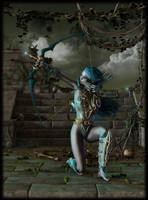 Dark Elf by LillithI