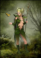 Princess of the Forest by LillithI